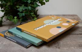 Zwangerschapsboek-Jep!- Oker yellow multi
