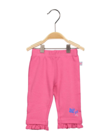 Baby Girls knitted trouser-Blue Seven-  Pink orig