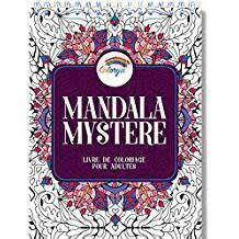 Kleurboek voor volwassenen 30 afb. Mandala Mystere-White