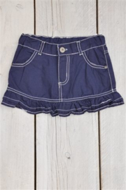 Girls Skirt roses- Dirkje- blue
