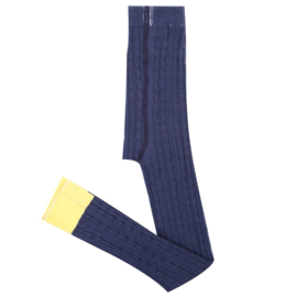 Knit legging- Juliette- Blue
