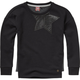 Girls Sweat Shirt Nyomi- Vingino- Black