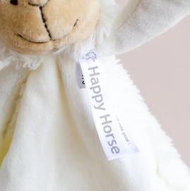 Happy Horse Lam Lugano knuffeldoekje Ivory