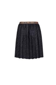 Nobell-NoelB pleated half long skirt-Navy Blazer