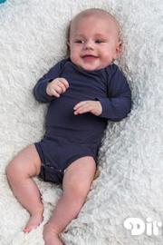 Baby Boys romper l.m.-Dirkje- Navy