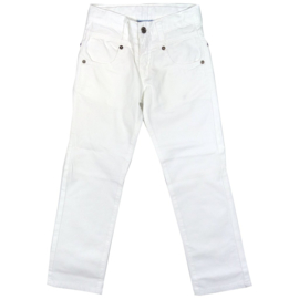 Porto Azul-Boys Trousers Naldo- White