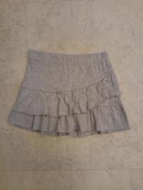 Girls knitted skirt- Blue Seven- Mid grey melee