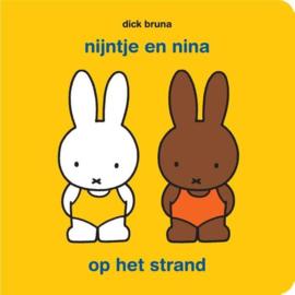 CBC-Bruna-Nijntje en Nina op het strand-met puzzel-Yellow