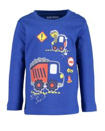 Blue Seven-Mini boys knitted shirt-Ocean  orig