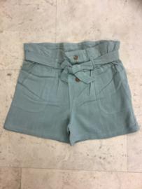 Blue Seven- Girls woven trouser-Glacier-Green