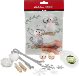 C.W.-Creative Mini Kit-Engeltjes-White