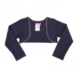 Girls Basic Bolero-LoFff- blue