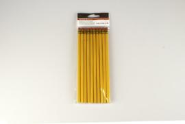 Verona potloden met gum 10 stuks