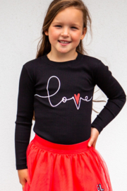 Girls Shirt Robbie-OChill-Black