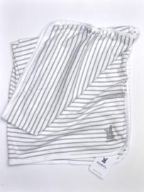 Unisex Baby Jersey Decke- Ewers-White Grey