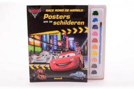 Walt Disney cars met verf palet- groothandel C- div kleuren