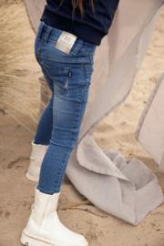 Koko Noko-Girls Nori jeans-Blue jeans