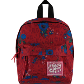 Girls Backpack Virmy-Vingino-Classic Red L-XL