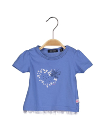 Baby Girls knitted shirt - Blue Seven- Blue orig