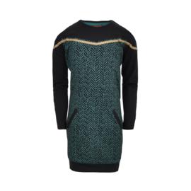Lovestation22-Sweater Dress Eva Green -Green