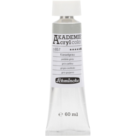 Acryl color-pebble grey (657) Opaque, extr. fade resistant, 60ml-Schmincke AKADEMIE