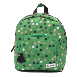 Girls Rugzak  Wild Dots-Zebra - Green
