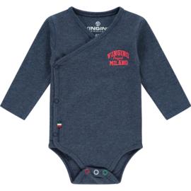 Vingino -Boys  Bodysuit Pelle Baby- Dark Blue Melange