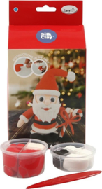 C.W.-Funny Friends kerstman 1set- Red