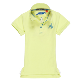JnJoy-Girls Polo Shirt-Banana split-yellow