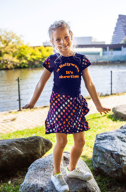OChill-Girls Dress Gigi-Navy