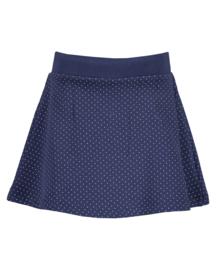 Blue Seven-Kids Girls knitted skirt-DK Blue orig