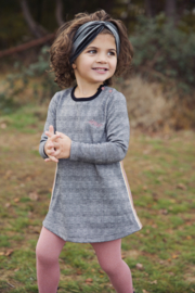 Girls Dress- Koko Noko- Grey/black check