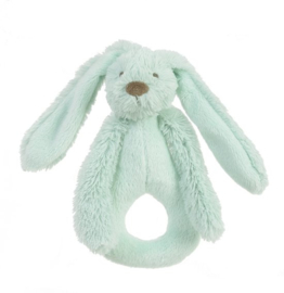 Unisex Rabbit Richie Rattle- Happy Horse- Lagoon