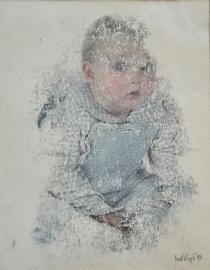 Portret 2 monoprint
