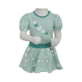 LoFff- Girls Baby Loffely dress short Sleeve -Mint