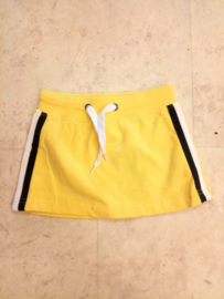 Kids Girls knitted skirt-Blue Seven-Yellow