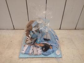 LPC-Compleet Kraampakket incl Giftset badcape & 5 wasdoekjes- Blue