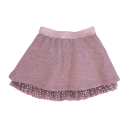 Girls Skirt Argenta- LoFff- Light grey - Silver