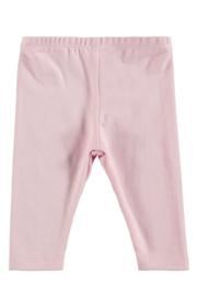 Bampidano-Newborn Baby Girls legging Fleur SLOTH-Light Pink