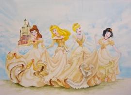 Prinsessen, aquarelverf