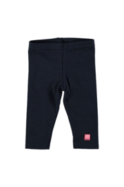 Baby girls legging plain- Bampidano- Navy