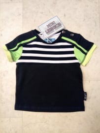 Mini Boys Stripey shirt -Legends22-Dark Blue