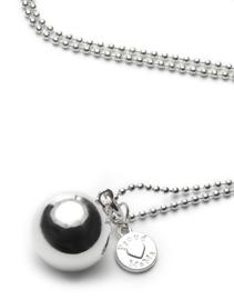 ROND BB Ballchain verzilverd-Proudmama-Silver