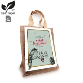 PaperArt-Maak een heerlijk Vogel Feestmaal-Brown