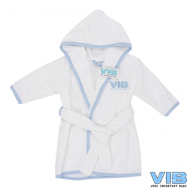 Badjas VIB'-VIB-Light Blue-white