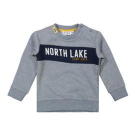 Dirkje-Boys Baby Sweater ls-Jeans blue