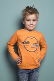 Boys T-shirt l.s  - DJ Dutch Jeans-Bright Orange