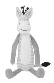 Happy Horse-Unisex Zebra Zoro 40cm-White-Grey