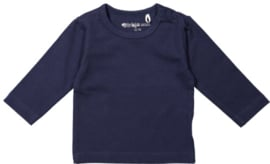 Dirkje-Boys Basic Shirt l.m.- Navy