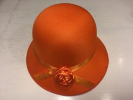 CW-Girls Hoed Royal- Orange